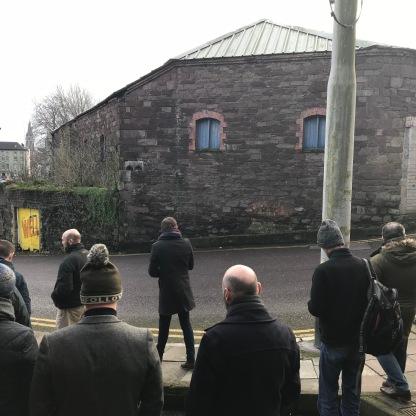 All eyes on the former Wyse distillery