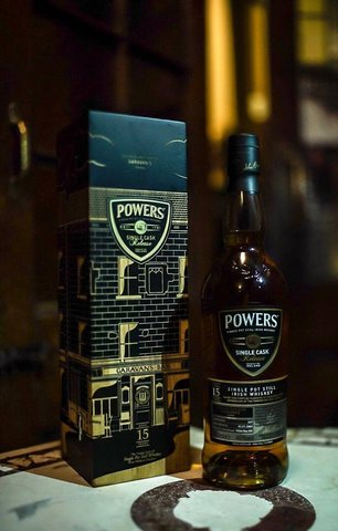 Garavans launch a Powers Single Cask