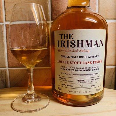 Irishman Single Malt Coffee Stout Cask Finish –Review