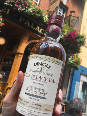 The Palace Bar launched a Dingle Founding FathersCask