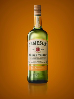IRISH DISTILLERS UNVEILS NEW 'JAMESON TRIPLE TRIPLE'
