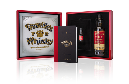Dunville's Irish Whiskey unveils 18 year old single malt with rare Port Mourant Demerara Rum Cask finish