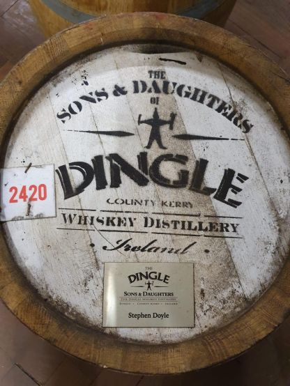 Dingle Sons and Daughter casks 2419 and 2420