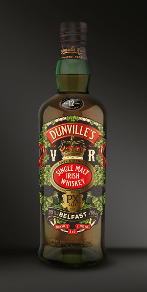 Dunville's Irish Whiskey releases highly anticipated Cask Strength PX Whiskey