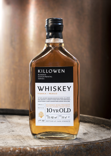 Killowen 10 yo Bonded Experimental Series – Mexican Tequila Cask finish – 55.4% Cask Strength