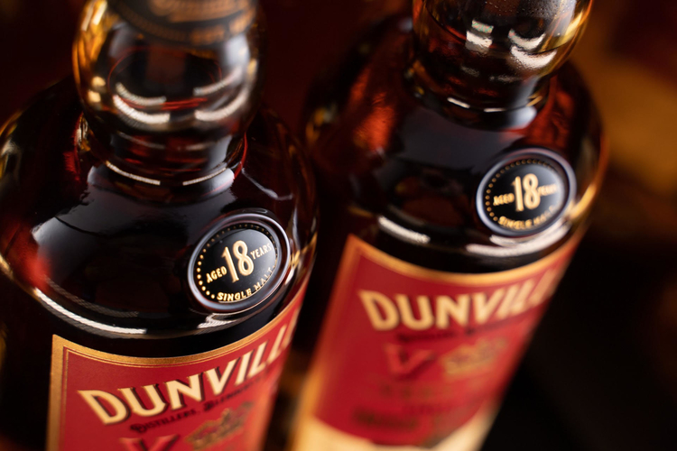 Dunville's Irish Whiskey expands Single Cask Series with Palo Cortado Sherry CaskFinish