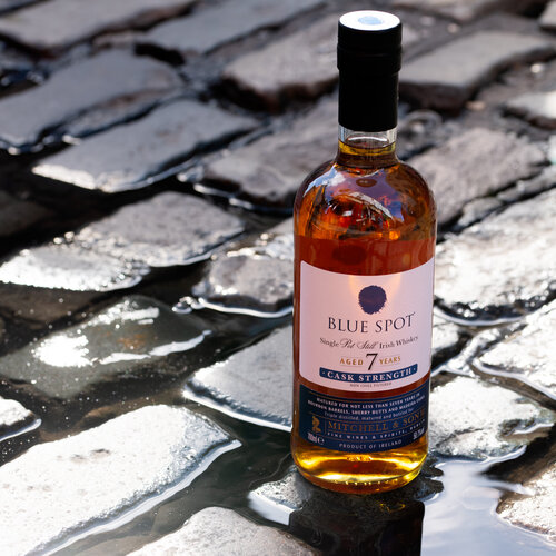 IRISH DISTILLERS AND MITCHELL & SON REUNITE THE SPOT FAMILY WITH THE INTRODUCTION OF BLUE SPOT